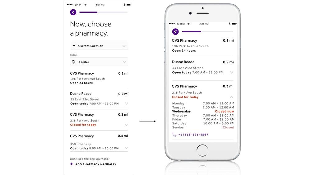 Informative pharmacy search