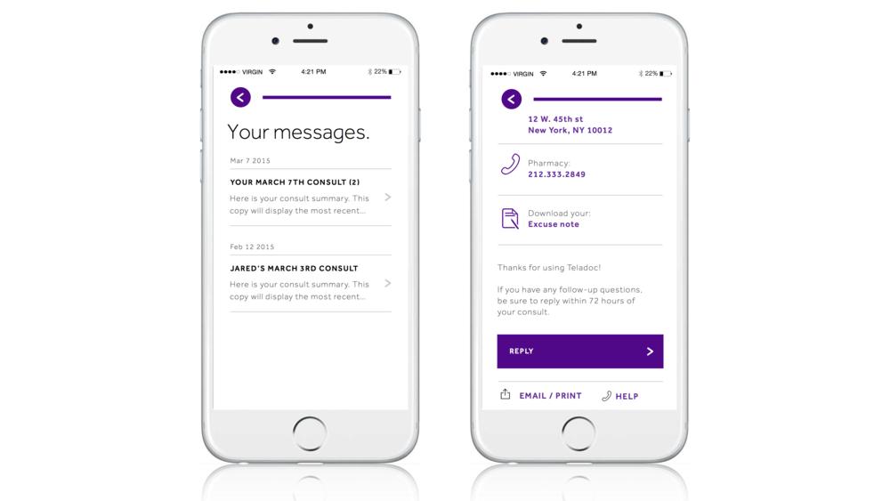 A better message center