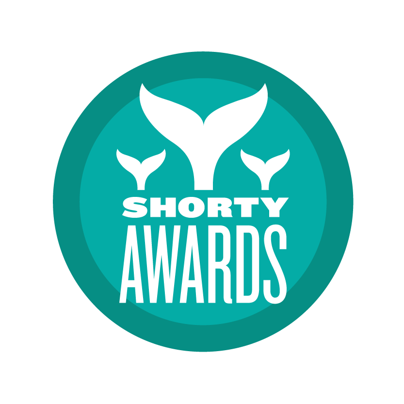 Shorty Award  in Multi-Platform Campaign, News & Media, and received Gold in Data Visualization  .
