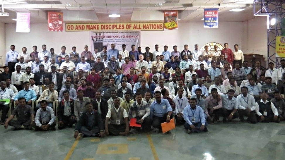 Attendees at a CCP mobilizing and vision casting conference in India.