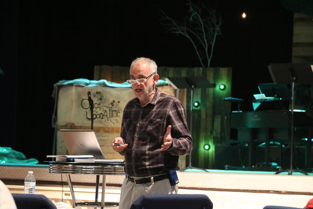 2016-02, Clio, Michigan, USA, Bruce Bennett Presenting at Mobilizing Members Seminar