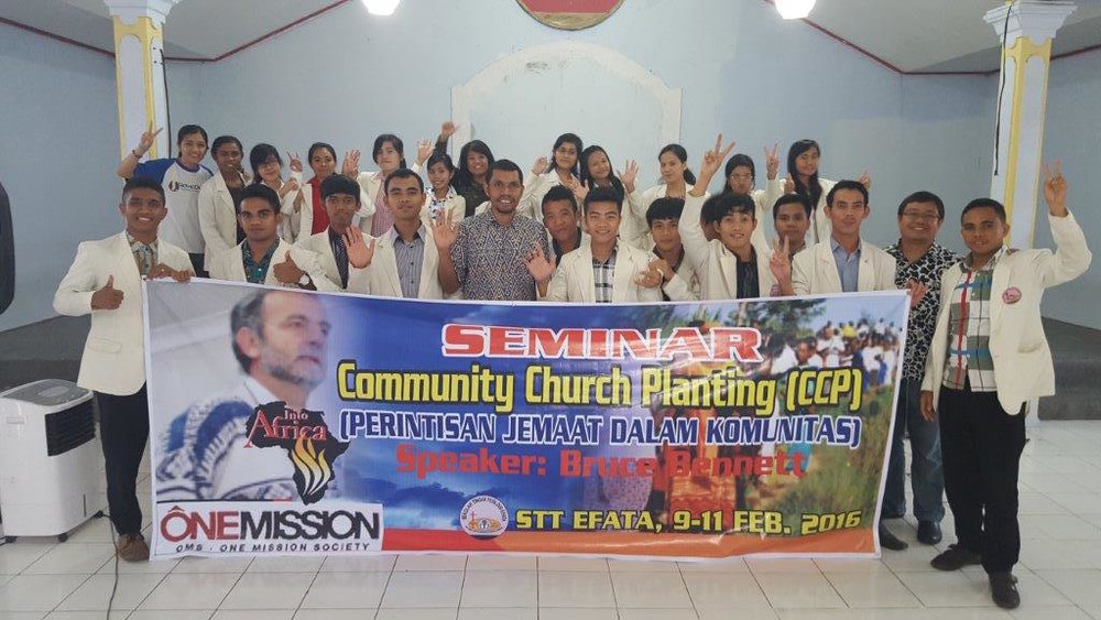 2016-02, Indonesia, CCP Training Seminar