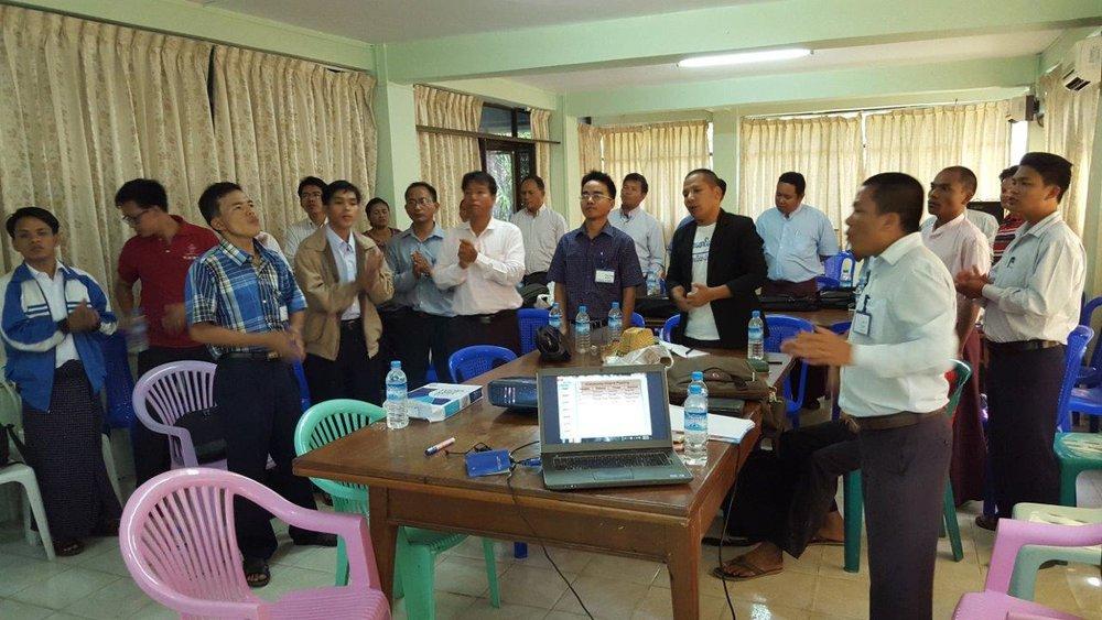 2016-02, Myanmar, Participants of CCP Training Seminar