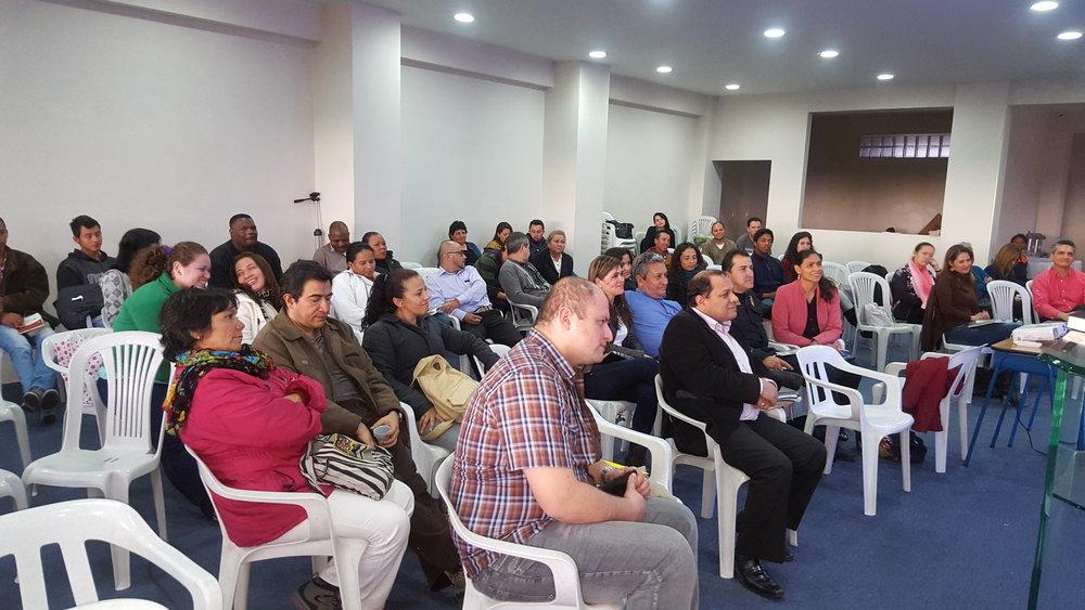 2016-05, Bogota, Colombia, CCP Training Seminar