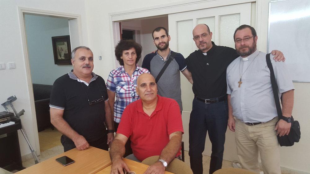 2016-08, Nazareth, Israel, CCP Local Leaders