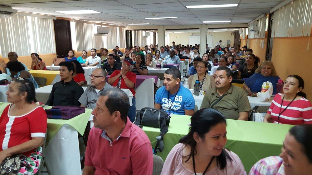 2017-10, Managua, Nicaragua, Scene from a CCP Training Seminar