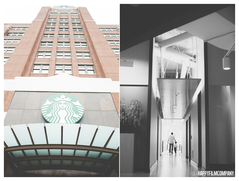 Starbucks Headquarters Seattle Family Photographer - the Happy Film Company