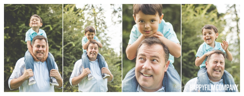 Seattle Father Son Photos - Seattle Family Portraits - the Happy Film Company