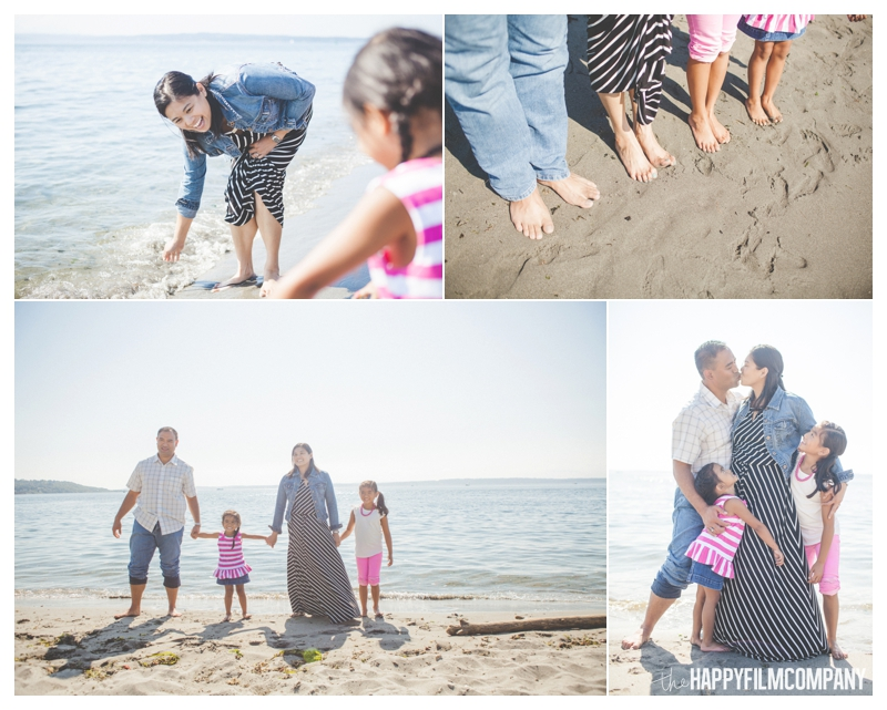 Seattle Family Photos - Golden Gardens Beach - the Happy Film Company