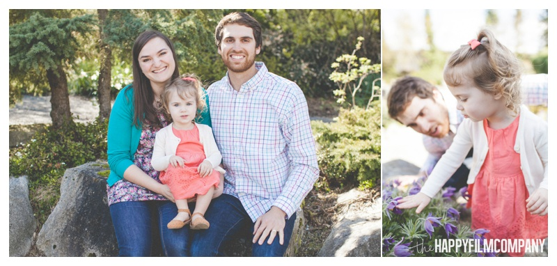 Bellevue Botanical Garden Family Photos - the Happy Film Company