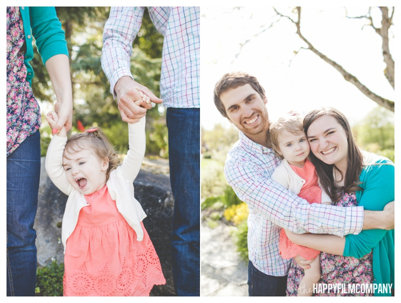 Happy Family Photos at Bellevue Botanical Garden - the Happy Film Company
