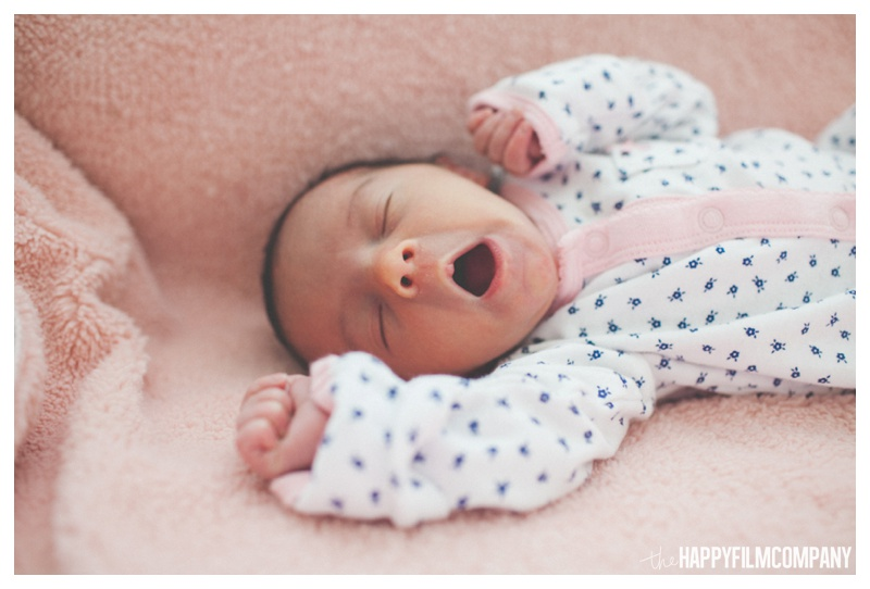 seattle newborn photography - the Happy Film Company