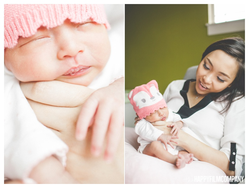 Beautiful Seattle Newborn Photos - the Happy Film Company
