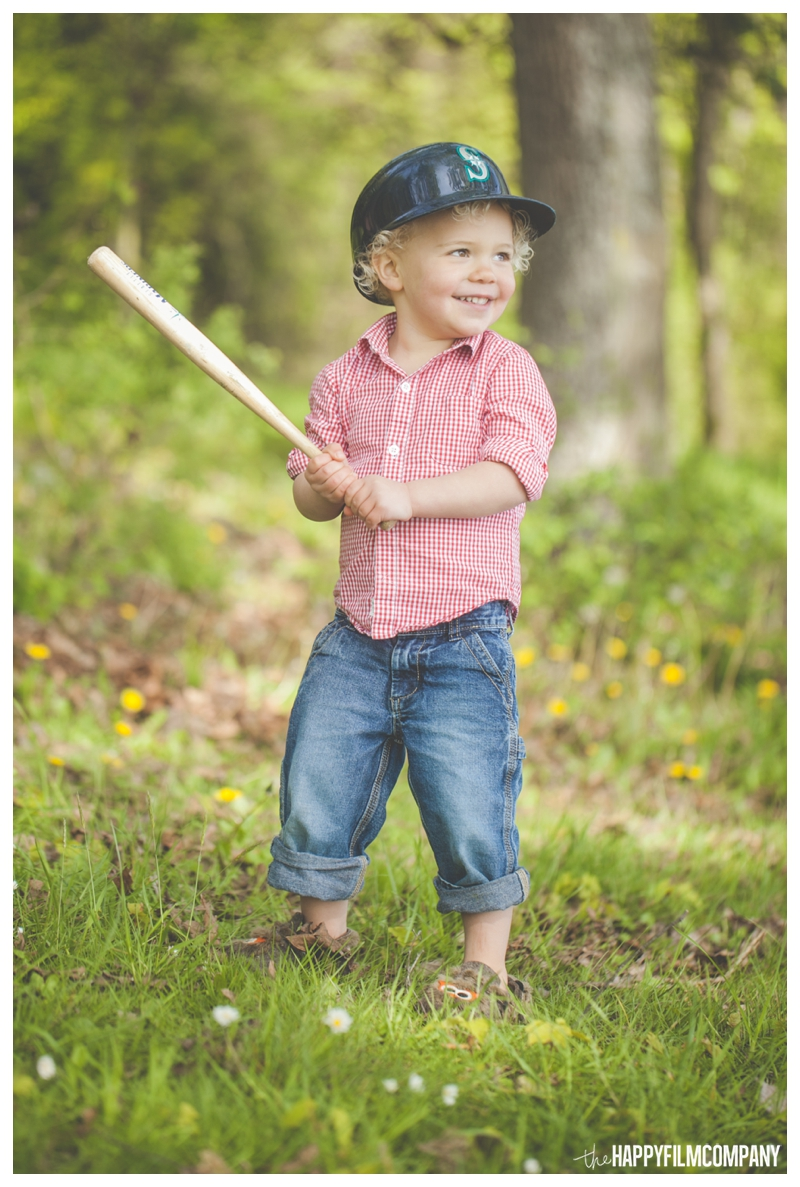 kids baseball portraits  - the happy Film Company