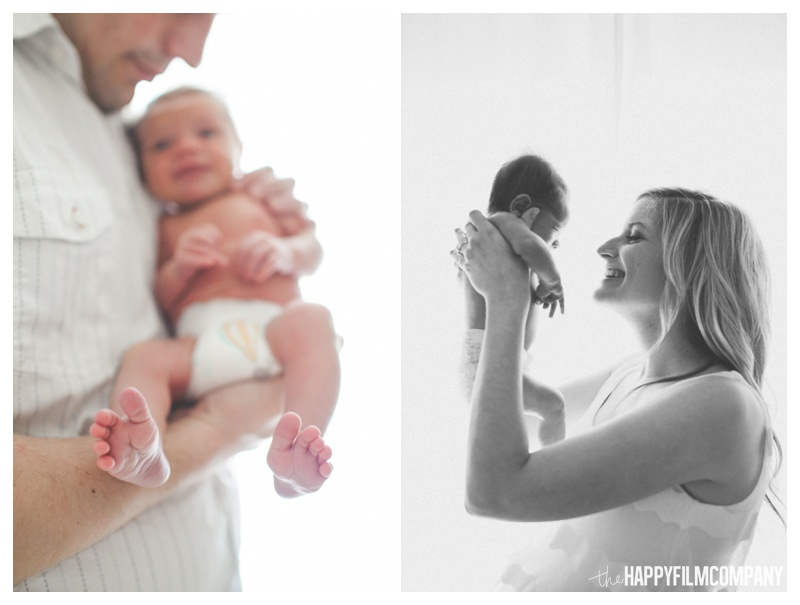 lifestyle newborn photography - the Happy Film Company - Seattle Newborn Photography
