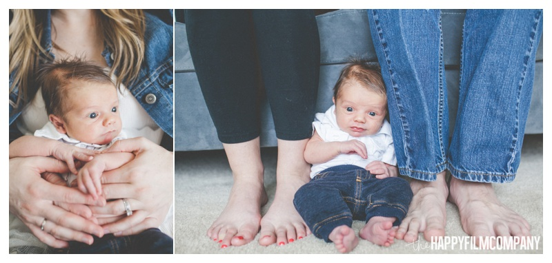 family feet pictures - the Happy Film Company - Seattle Newborn Photography