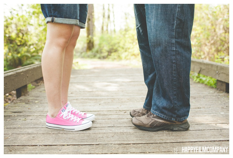cute feet photos - the Happy Film COmpany - Seattle maternity photos