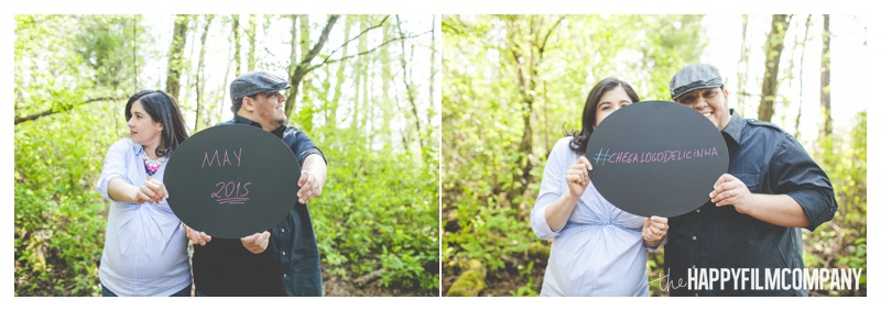 pregnancy announcement photos - the Happy Film COmpany - Seattle maternity photos