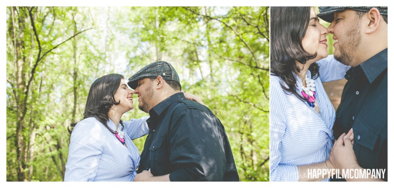 couples portraits - the Happy Film COmpany - Seattle maternity photos