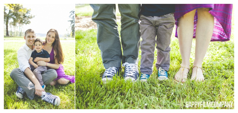 family feet photos - the Happy Film Company - Mercer Island Family Photos