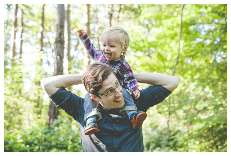 playful family pictures   - the Happy Film Company - Seattle Family Photographer