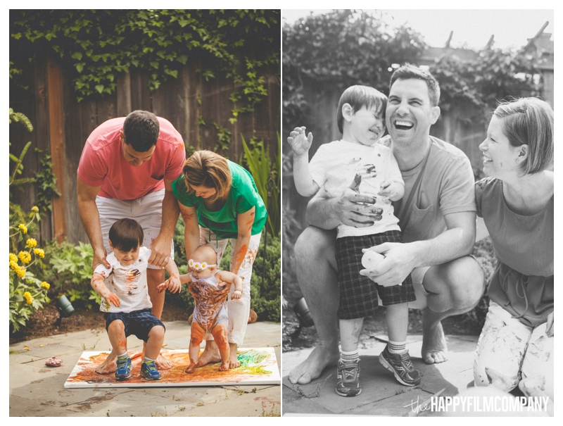 family photos with crying kids  - the Happy Film Company - Seattle Family Photographer