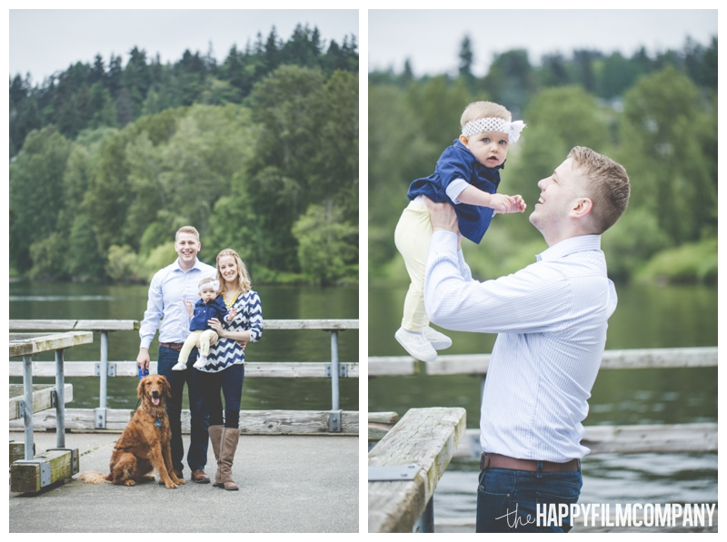 Seattle Family Photo Shoot - Log Boom Park - the Happy Film Company