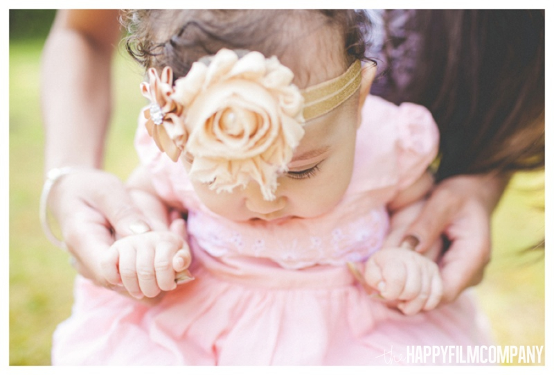 Little girl, pretty in pink - the Happy Film Company - Seattle Family Photography