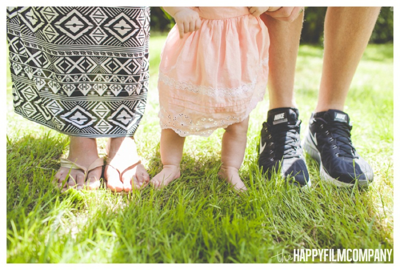 family feet photo -  the Happy Film Company - Seattle Family Photography