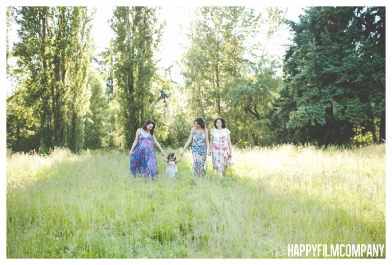 sunset family photos  - the Happy Film Company - Seattle Family Photography