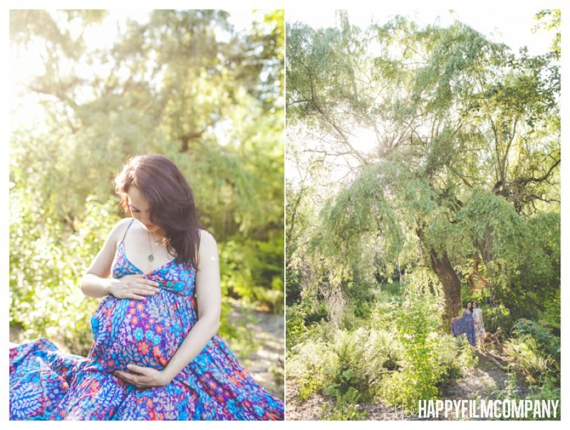 outdoor maternity photos  - the Happy Film Company - Seattle Family Photography