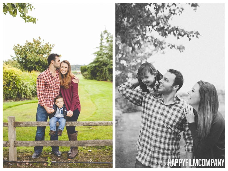 family photos at the farm - the Happy Film Company - Seattle Family Holiday Photos