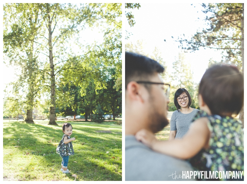 family photos in the park  - Seattle Family Videography - Sandpoint Family Photography - the Happy Film Company