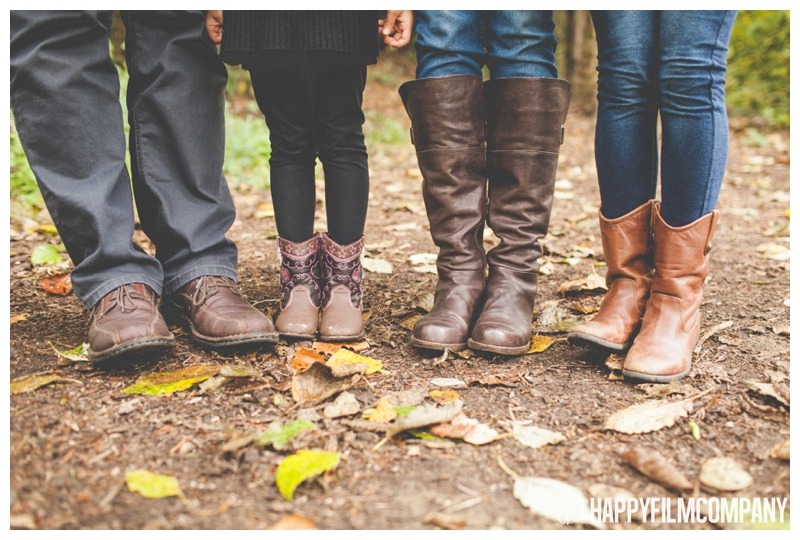 picture of family's feet  — Seattle Family Photos - Black River Riparian Forest and Wetland - the Happy Film Company