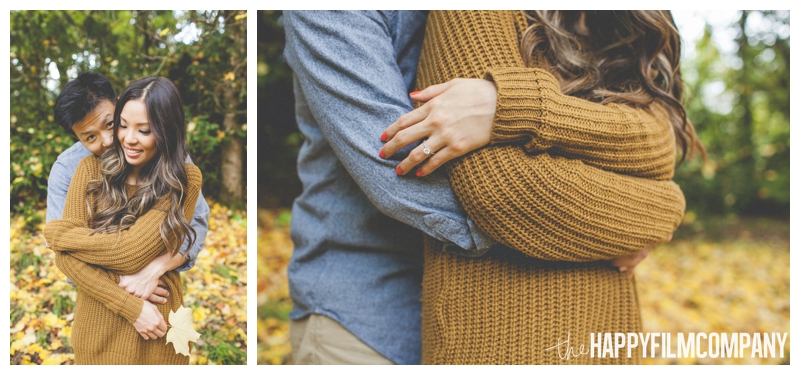 romantic couples portraits   - Seattle Family Holiday Portraits - the Happy Film Company
