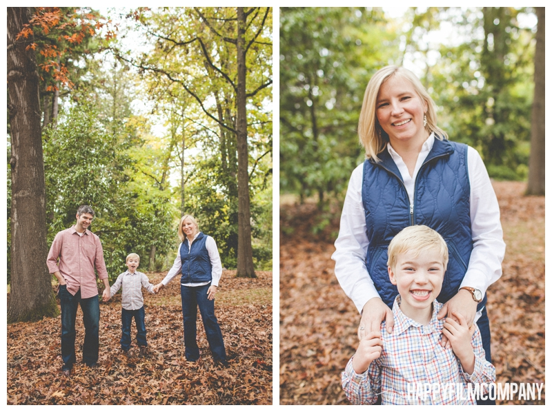 autumn family portraits  - the Happy Film Company - Seattle family holiday photo shoots - Arboretum