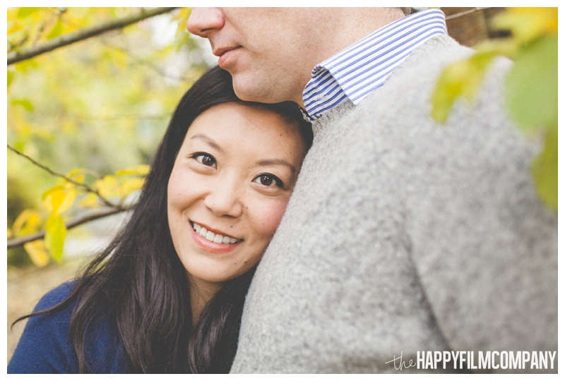 beautiful couples portraits  - the Happy Film COmpany - Greenlake Park Seattle Family HOliday Photos