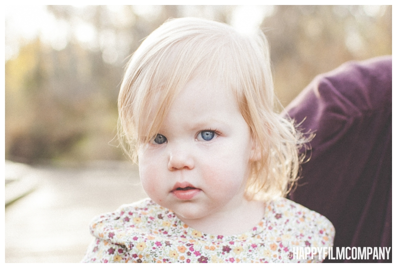 beautiful little girl portrait  - the Happy Film Company - Seattle Family Photography