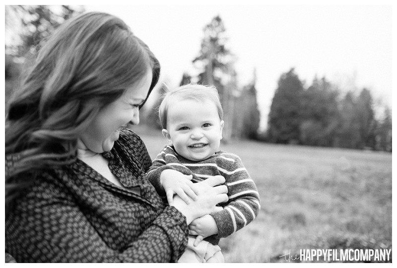 mother son portrait laughing park  - the Happy Film Company - Seattle Mini Family Photo Shoot - Juanita Bay park
