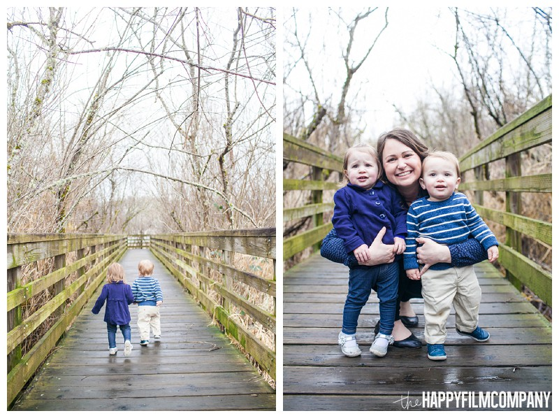 mother kids photos boardwalk twins portraits  - the Happy Film Company - Seattle Mini Family Photo Shoot