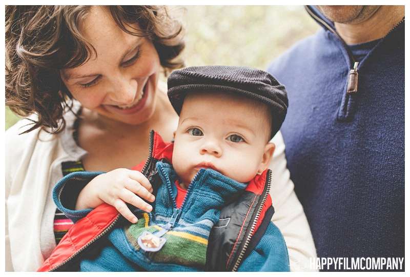 cute little boy with hat  - the Happy Film Company - Seattle PEPS Group Family Portraits