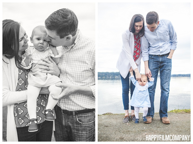 family portraits at matthews beach  - the Happy Film Company - Seattle PEPS Group Photo Shoot