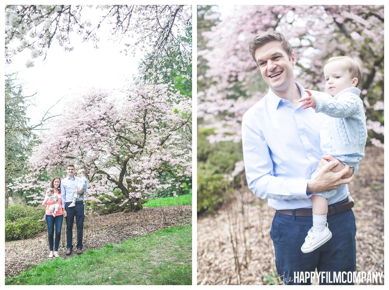 washington park arboretum family portraits  - the Happy Film Company - Seattle Family Photographers - Cherry Blossoms Mini Shoots