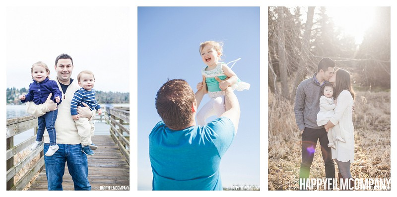 Golden Hour Photos, Hot Sunlight Photos, Overcast Lightning- thehappyfilmcompany - How to Choose What Time of Day to Book Your Seattle Family Portrait Shoot?