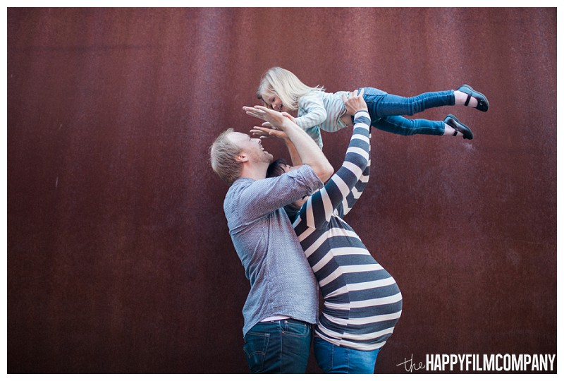 Cute family portrait  - the Happy Film Company - Seattle Family Photography