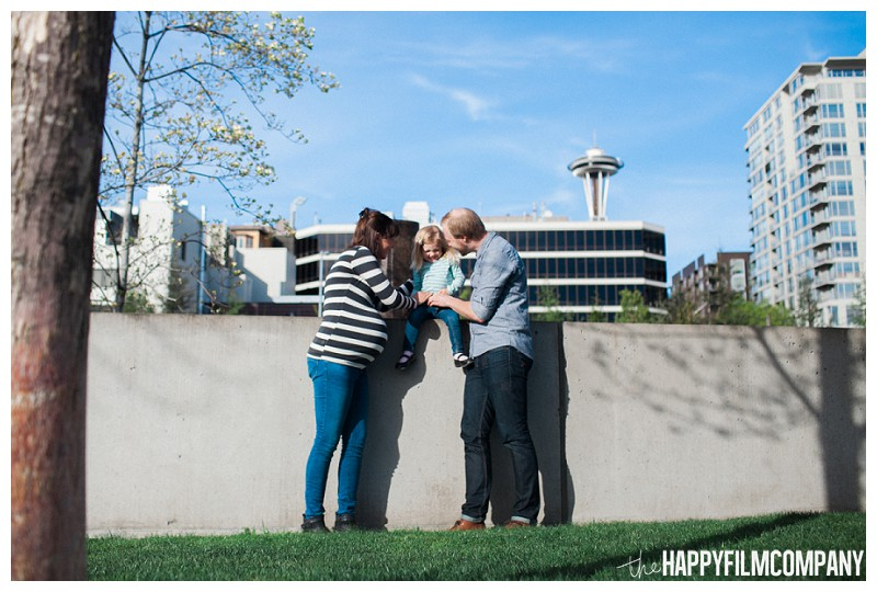 Family of 3  - the Happy Film Company - Seattle Family Photography