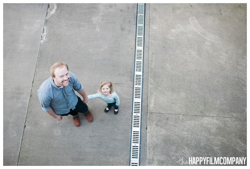 Father and daughter outdoor photo  - the Happy Film Company - Seattle Family Photography