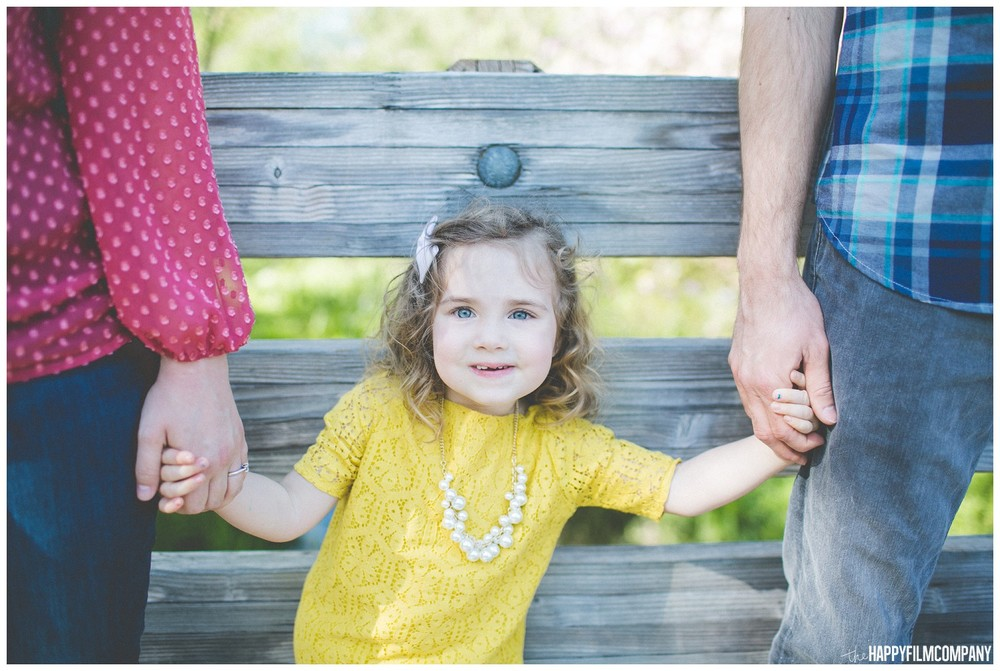 Little girl wearing a sprint color- the Happy Film Company - Seattle Family Photography