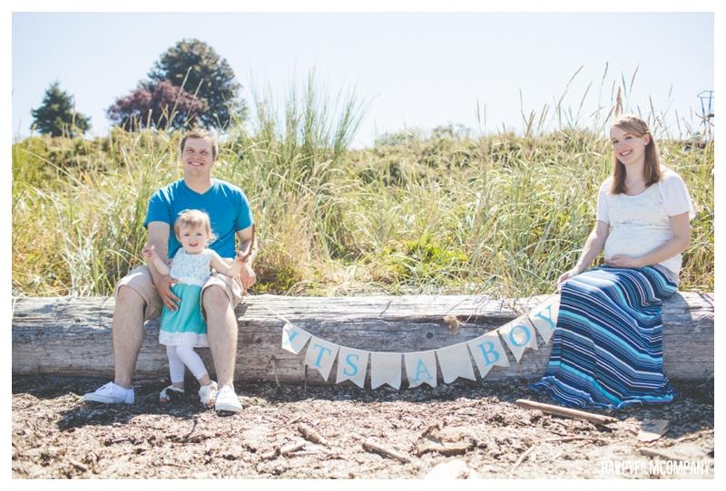Beach Family Adventure - the Happy Film Company - Seattle Family Photo