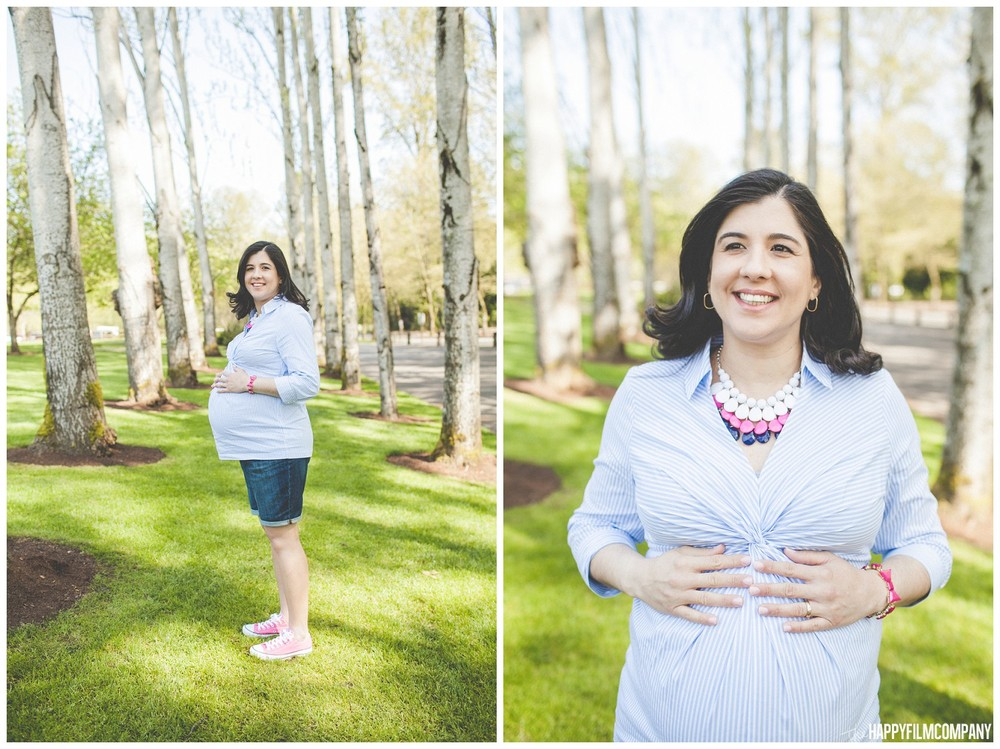Seattle maternity photo shoot -  the Happy Film Company - Seattle Family Photos